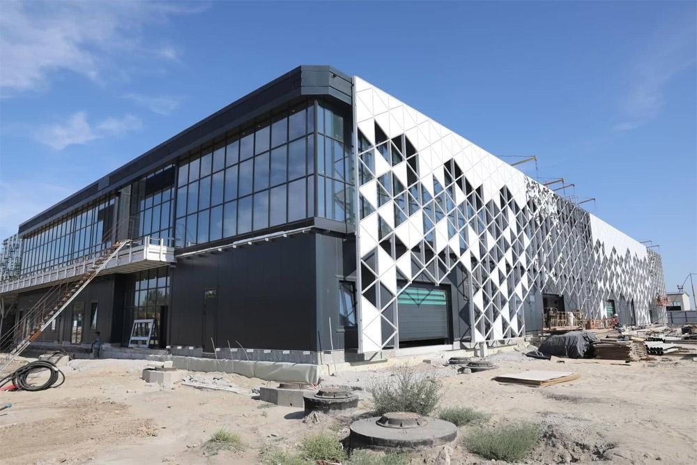 Новый терминал в аэропорту Запорожье, август 2019 года