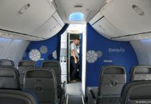 """Салон самолета Boeing 737-800 """"Белавиа"""""""