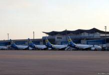 Самолеты МАУ у терминала D в аэропорту Борисполь