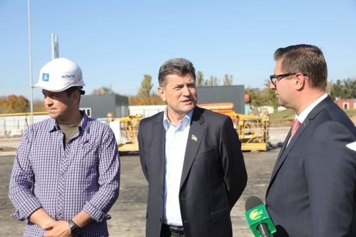 Мэр Запорожья Владимир Буряк