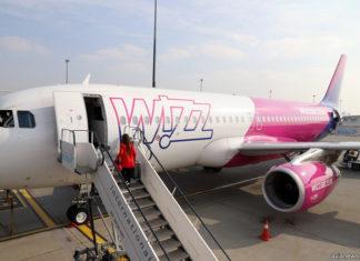 Посадка в самолет Wizz Air