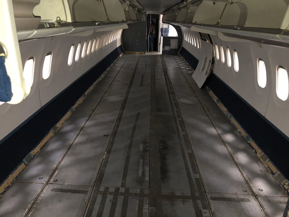 Салон самолета Ан-148 UR-NTA
