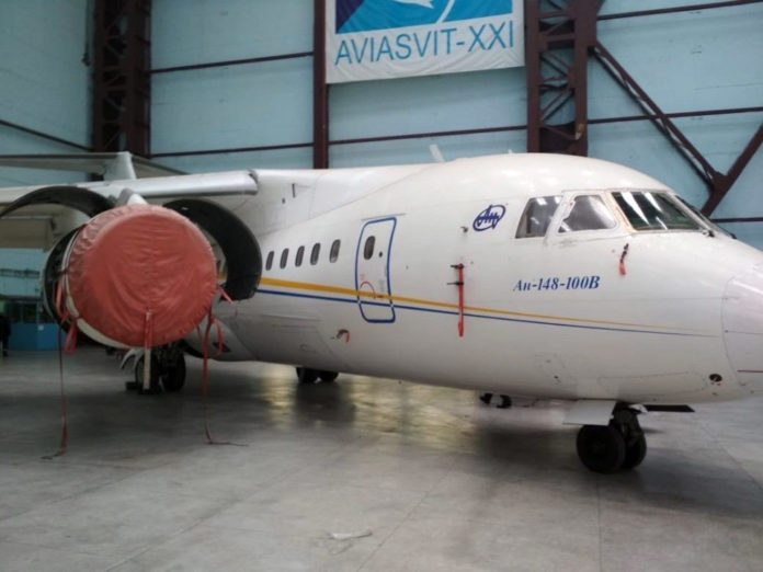 Ан-148 UR-NTA
