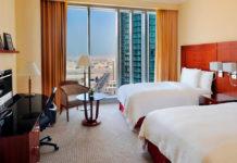 5* отель Hotel Marriott Marquis City Center Doha в Дохе, который участвует в программе стоповер Qatar Airways