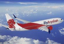 Boeing 737 MAX 8 в ливрее FlyArystan