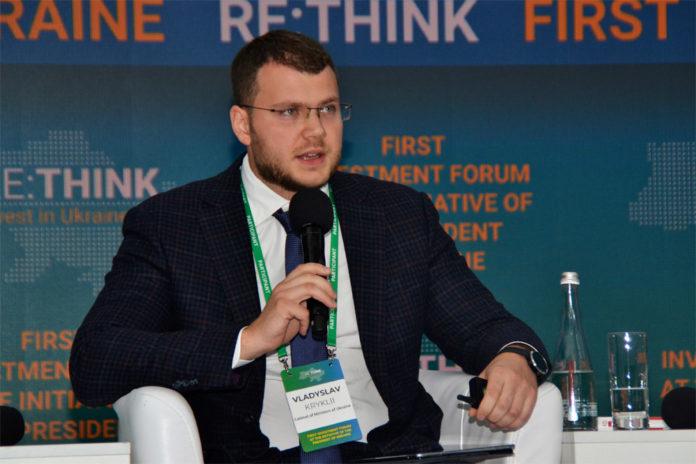 Министр инфраструктуры Украины Владислав Криклий