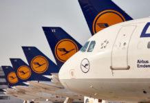 Самолеты Lufthansa