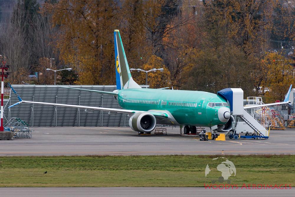 Четвертый Boeing 737 MAX 8 для МАУ