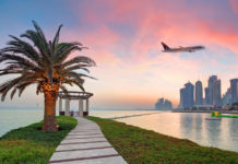 Столица Катара Доха. Фото: Qatar Airways