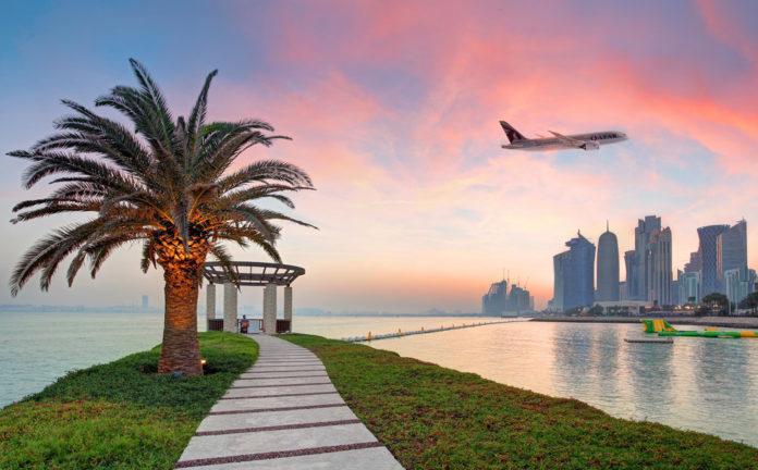 Столица Катара Доха. Фото: Qatar Airways