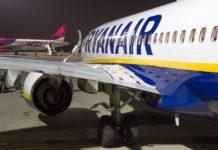 Самолеты Ryanair и Wizz Air