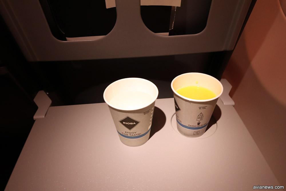 Бесплатные напитки на внутренних рейсах SkyUp: вода и сок