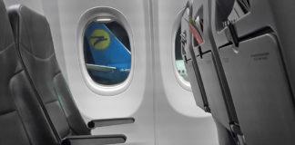 Вид из окна самолета SkyUp