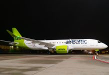 Airbus A220-300 YL-AAV airBaltic