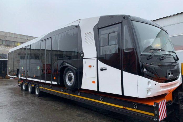 Перронный автобус МАЗ 271 для аэропорта Борисполь