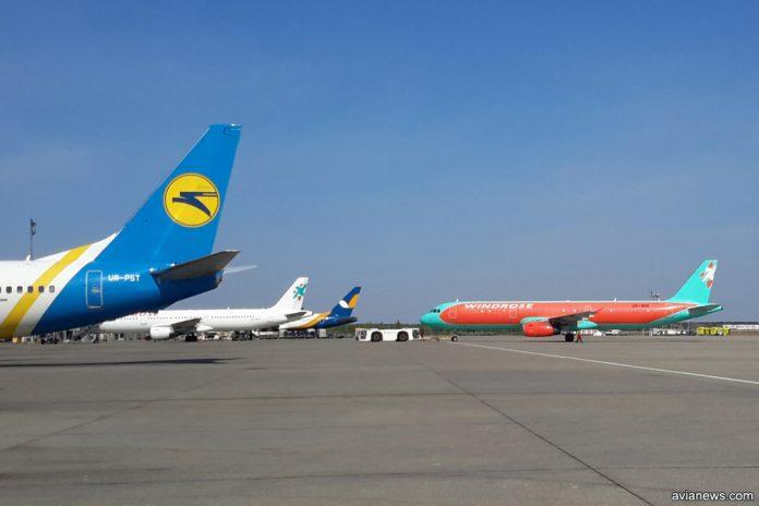 Самолеты МАУ и