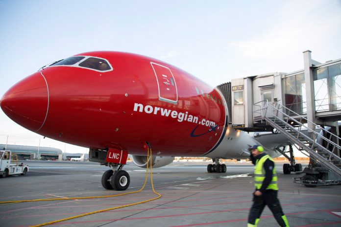 Boeing 787 Norwegian Air Shuttle