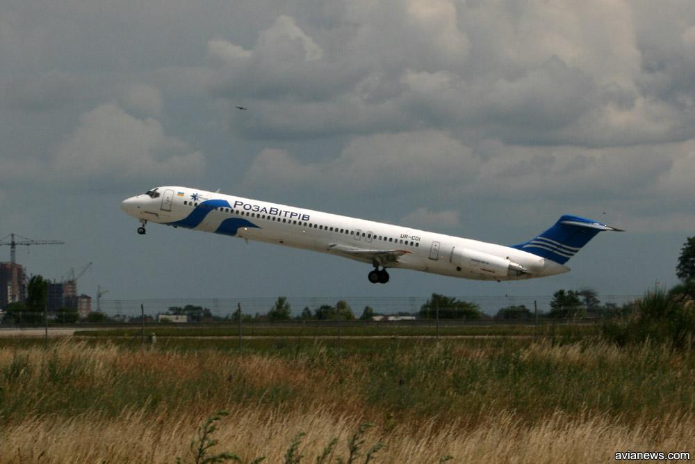 """Ливрея """"Роза Ветров"""" на MD-82 в 2008 году"""
