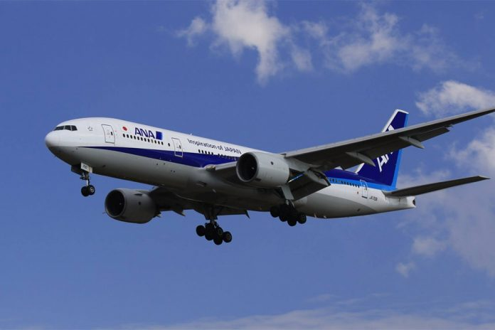 Boeing 777 All Nippon Airways