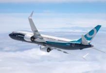 Boeing 737 MAX 9 в полете