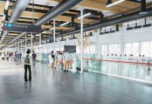 Первая очередь новой зоны посадки для пассажиров лоу-костов в аэропорту Будапешт