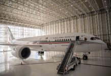 Президентский Boeing 787 Мексики