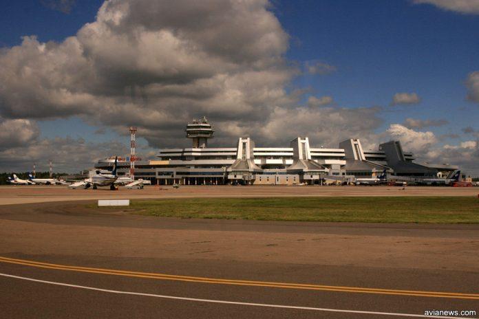 Терминал в аэропорту Минск