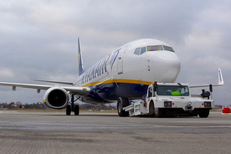 Число пассажиров Ryanair упало на 80%