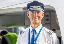 Кристофер Медевик, пилот Boeing 737 SAS