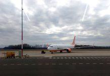 Boeing 737-800 SkyUp в аэропорту Пардубице