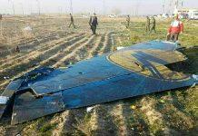 Киль разбившегося Boeing 737-800 UR-PSR МАУ