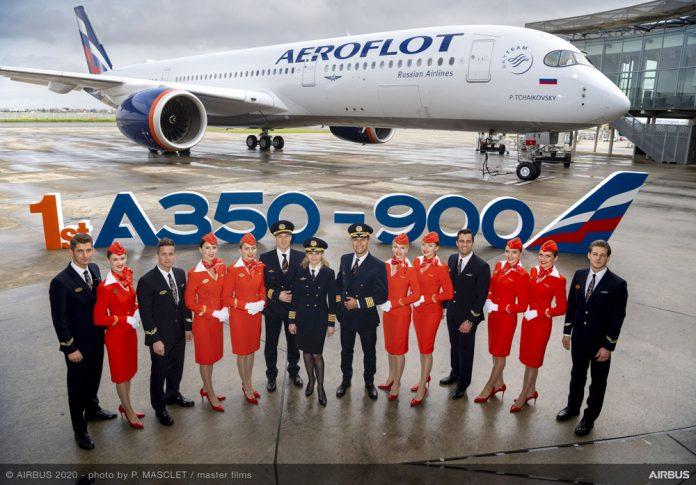 Передача первого Airbus A350-900