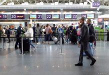 Зона регистрации на рейс в аэропорту Борисполь, терминал D