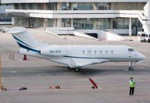 Самолет бизнес-авиации