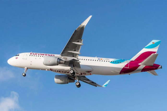 Airbus A320 Eurowings