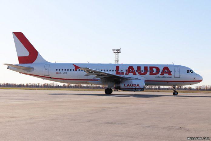 Laudamotion закроет основную базу в аэропорту Вены