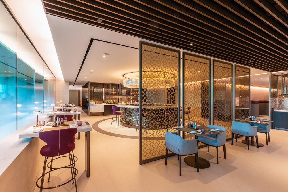 Премиум-зал Qatar Airways в аэропорту Сингапура Чанги