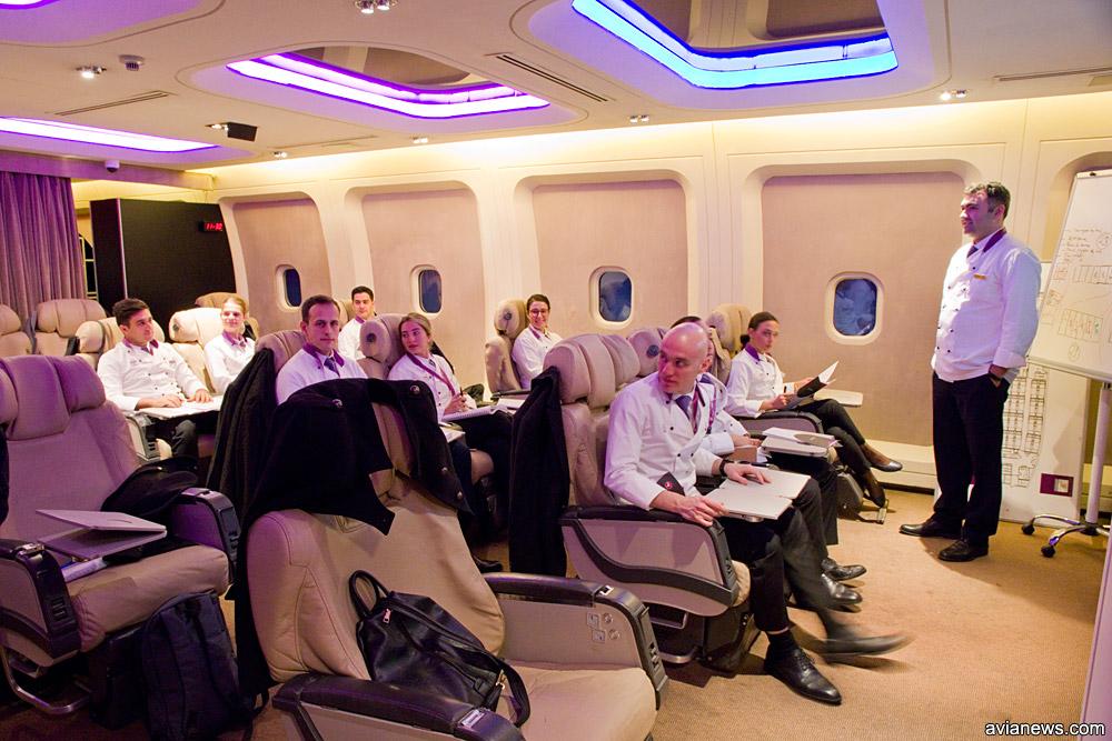 Летающие шеф-повара Turkish Airlines проходят обучение на базе Turkish Do & Co