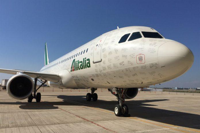 Airbus A320 Alitalia