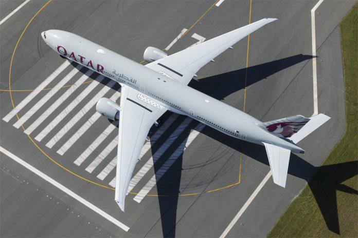 Boeing 777 Qatar Airways