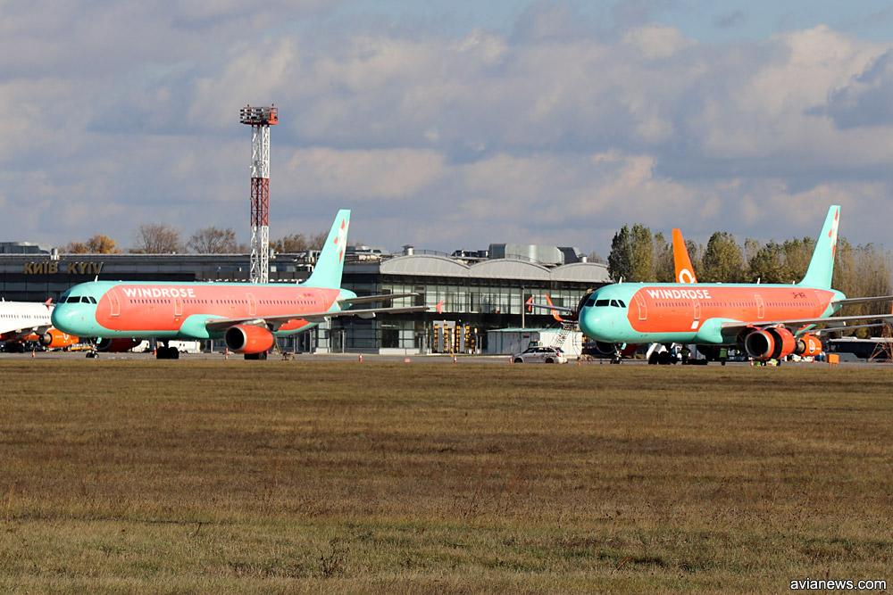 """Airbus A321 """"Роза Ветров"""""""