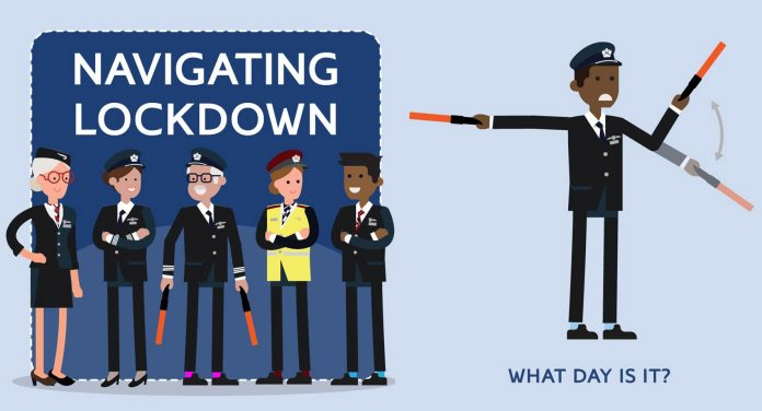 Шуточный авиационный язык жестов от British Airways
