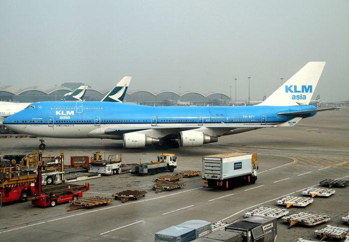 Boeing 747 Combi KLM