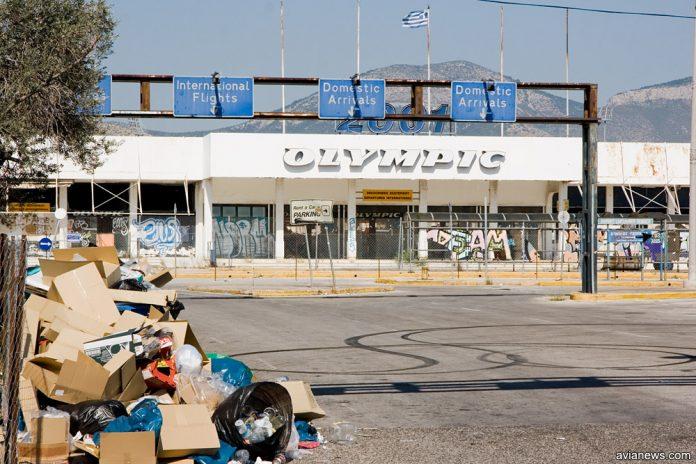 Терминал Olympic Airways в аэропорту Элиникон