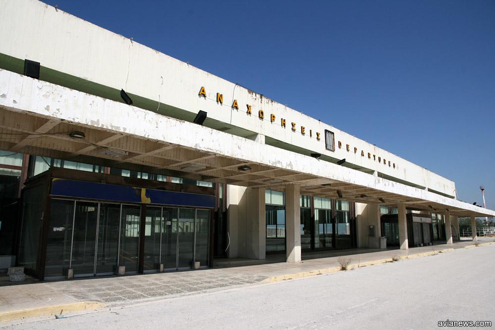 Старый терминал в аэропорту Элиникон