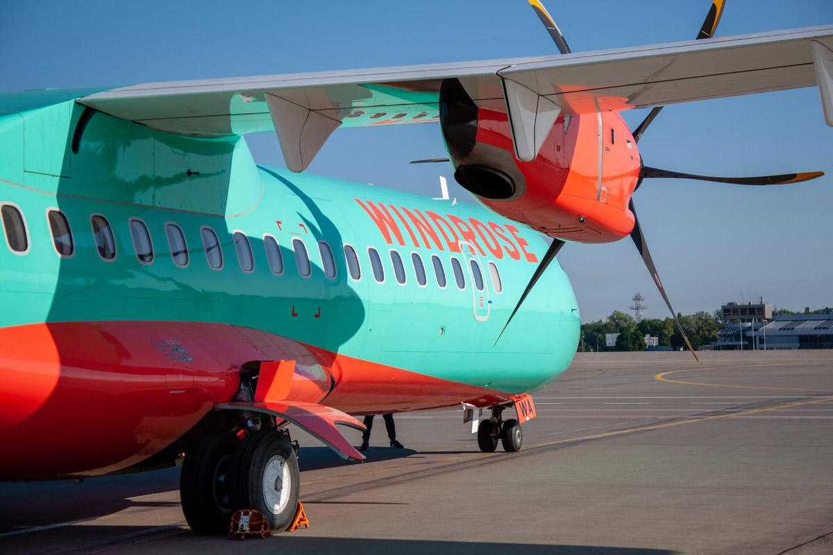 """ATR 72-600 """"Роза Ветров"""""""