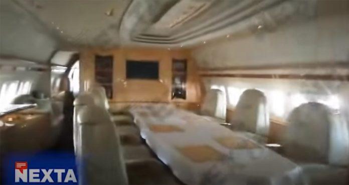 Интерьер Boeing 767? на котором летает президент Беларуси Александр Лукашенко