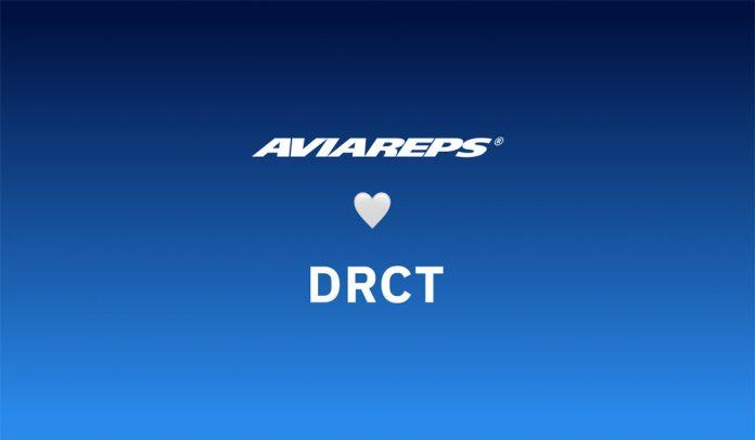 Логотипы AVIAREPS и DRCT