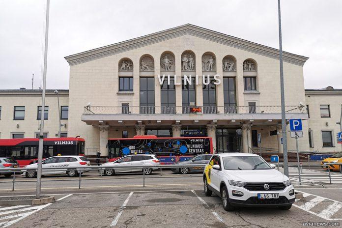 Старый терминал в аэропорту Вильнюс