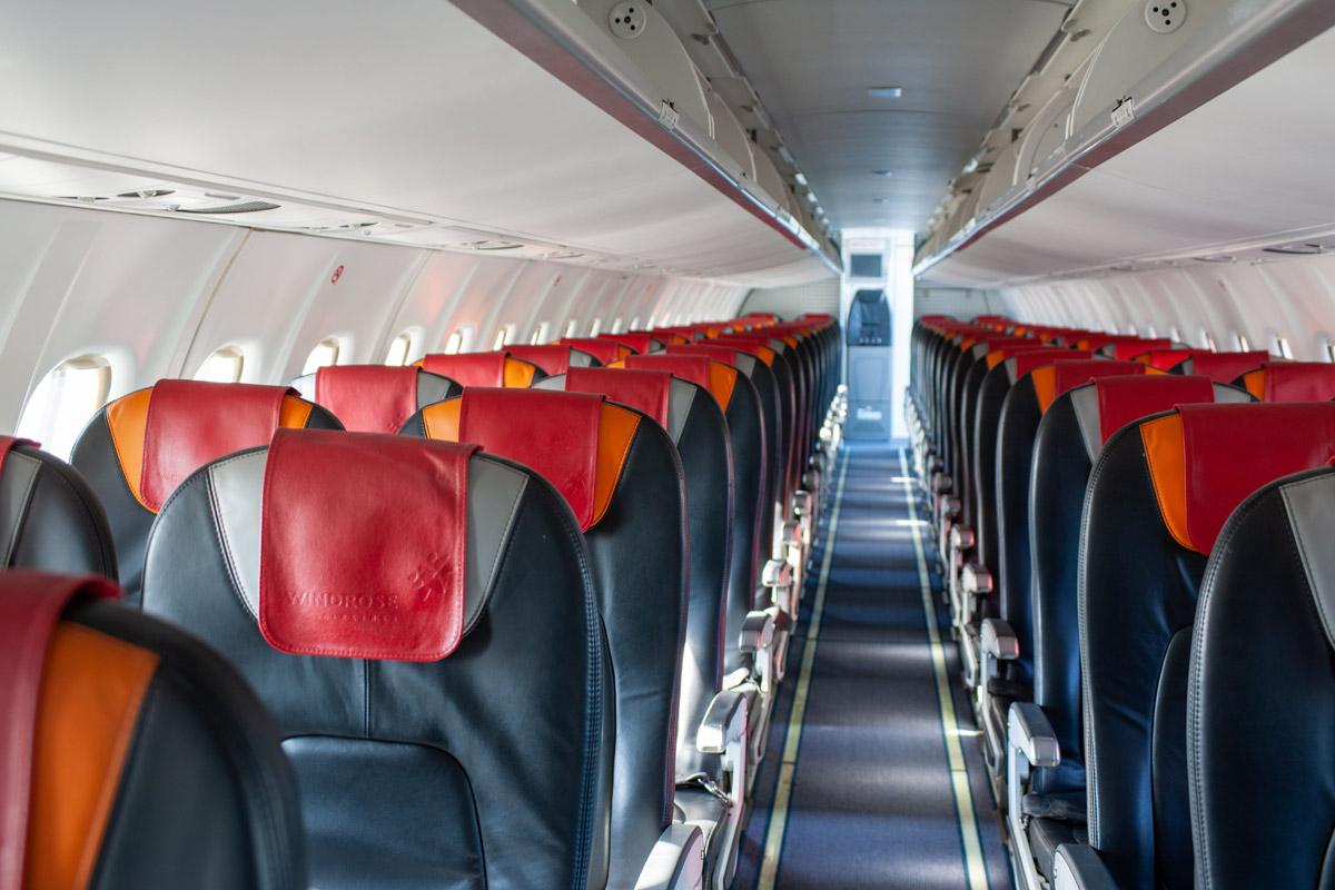"""Салон ATR 72-600 """"Роза Ветров"""""""